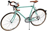 Retrospec Bicycles Kinney 14-Speed Vintage Hybrid Diamond Drop-Bar Frame Bicycle, Celeste, 61cm/X-Large