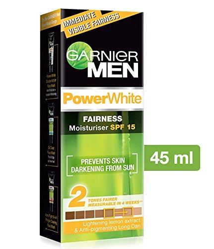 Garnier Men Power Light Fairness Moisturiser Spf 15, 45 G 50Gm