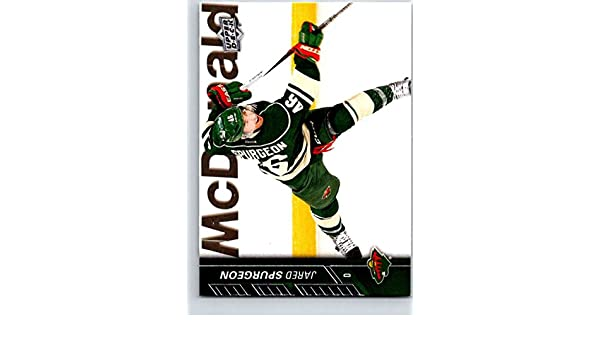 Amazon.com: Hockey NHL 2015-16 Upper Deck #89 Jared Spurgeon Wild: Collectibles & Fine Art