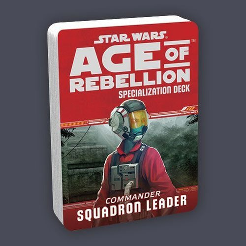 Star Wars Age of Rebellion: Squadron Leader Specialization Deck