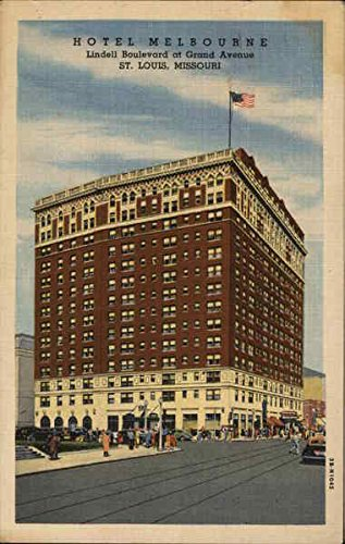 Hotel Melbourne, Lindell Boulevard at Grand Avenue St. Louis, Missouri Original Vintage - Avenue Melbourne The