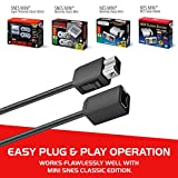 NES Classic Controller Extension Cable 3M / 10ft (2-PACK), i-Kawachi SNES Extension Power Cord for Super Nintendo SNES Classic Edition Controller (2017) and Mini NES Classic Edition (2016)
