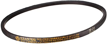 sourcing map K27 Drive V-Belt Girth 27-inch Industrial Power Rubber Transmission Belt