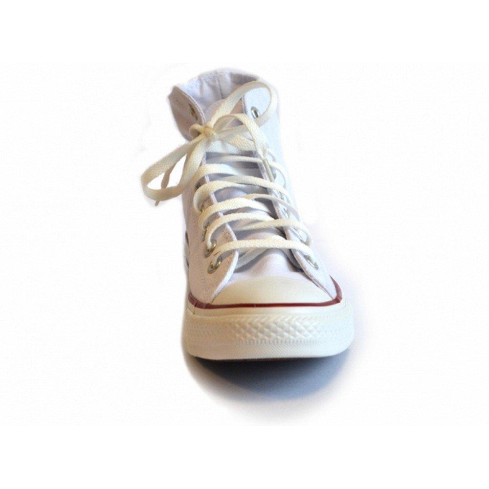 Converse All Star Optical Weiß High Top Leinen Turnschuhe