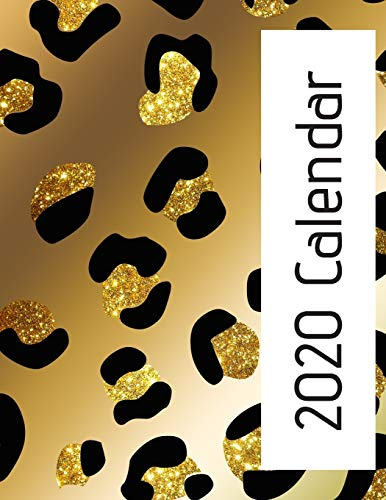 2020 Calendar: Monthly wall calendar. Beautiful bright animal print designs each month. Twelve months with space to write in each day Creative Calendars