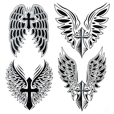 Amazoncom Hjlwst 1pc Yimei Tattoo Stickers Large Sizewaterproof