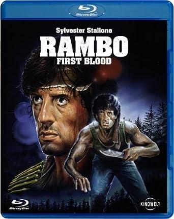 Rambo 1 - First Blood [Alemania] [Blu-ray]: Amazon.es: Stallone, Sylvester, Dennehy, Brian, Crenna, Richard, Caruso, David, Starrett, Jack, Kotcheff, Ted, Stallone, Sylvester, Dennehy, Brian: Cine y Series TV