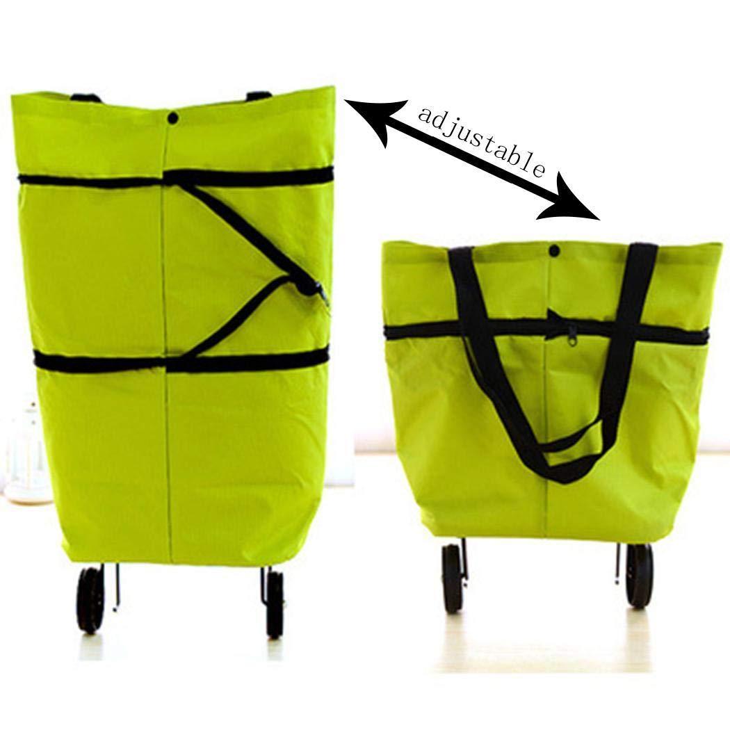 Shopping bag con ruote pieghevole