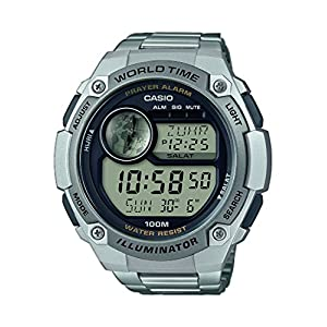 Casio Digital 5aefReloj B640wc UnisexAcero Collection Inoxidable jpzMULqSVG