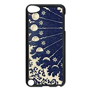 Sun and Moon Customized Hard Plastic Cover Case fits iPod Touch 5th ipod5-linda7