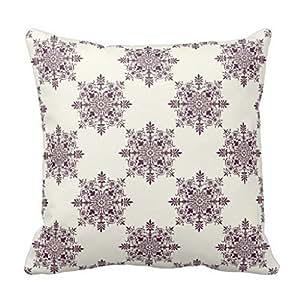 JamieSaleStore Purple Vintage Victorian 45*45cm Cotton linen pillow cushion cover