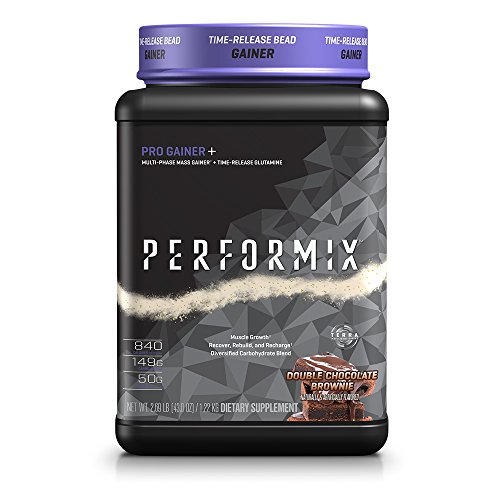 PERFORMIX Pro Gainer+ Multi-Phase Mass Gainer, Time-Release Glutamine, Muscle Growth, Recover, Rebuild, Recharge,