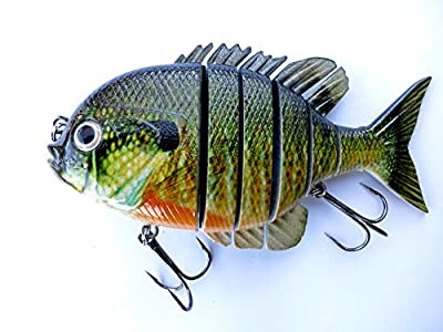 Blue Gill Sun Fish Panfish Talipia for Bass Fishing Lure