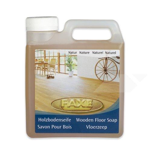 Faxe - Sapone per pavimenti in legno, naturale, 1 litro