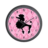 Cheap CafePress – Poodle in Pink Wall Clock – Unique Decorative 10″ Wall Clock