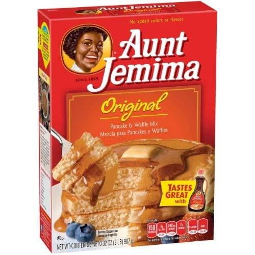 Aunt Jemima Original Pancake & Waffle Mix (Pack of 4)