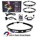 Airgoo Computer LED Strip Kit, 2pcs 20inch PC RGB