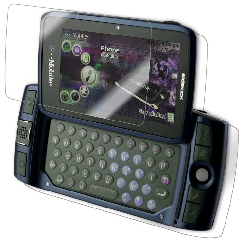 IQ Shield LiQuidSkin Full Body Skin + Full Coverage Screen Protector for T-Mobile Sidekick LX HD Clear Anti-Bubble Film (Sidekick Screen Lx Lcd)