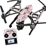 MightySkins Protective Vinyl Skin Decal for Yuneec Q500 & Q500+ Quadcopter Drone wrap cover sticker skins TrueTimber Conceal Pink