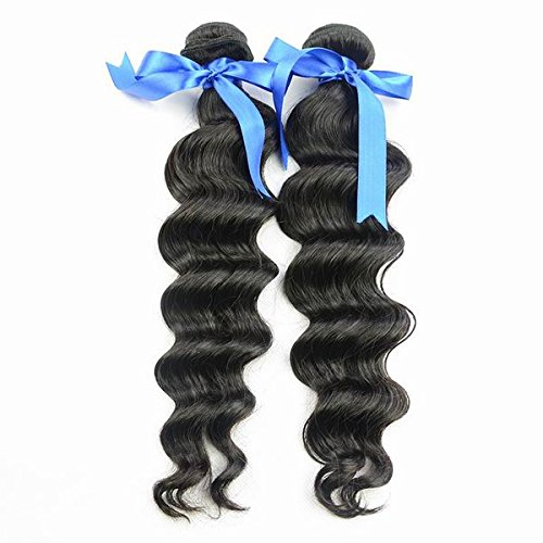 Indian Hair Extension Loose Wave Virgin Hair 18 2 Bundles...