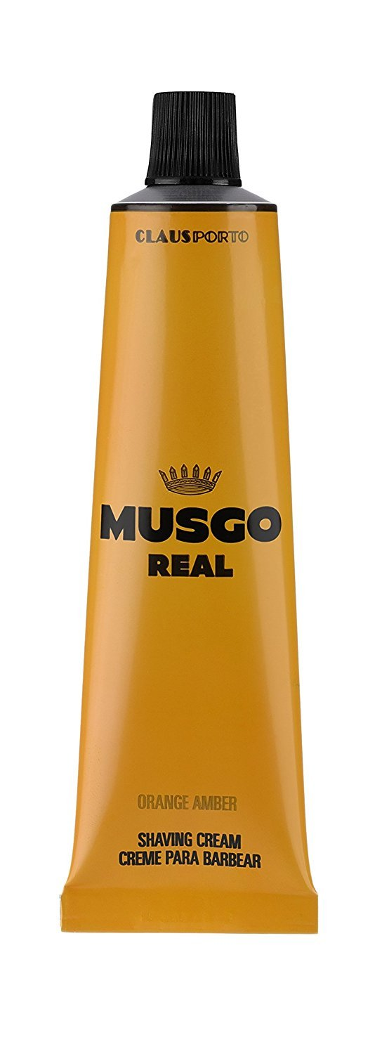 Claus Porto Musgo Real Orange Amber Shaving Cream (100 ml)