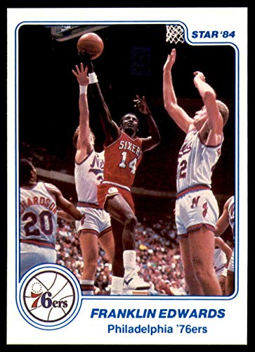 - 1983-84 Star #3 Franklin Edwards NM-Mint 76ers