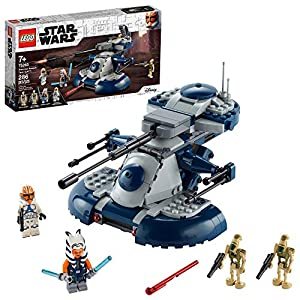 LEGO Star Wars: The Clone Wars Armored Assault Tank (AAT) 75283 Building Kit, Awesome Construction Toy for Kids with…