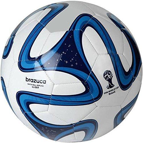 Shopper Stock PVC Blue Brazuca Football  Size 5