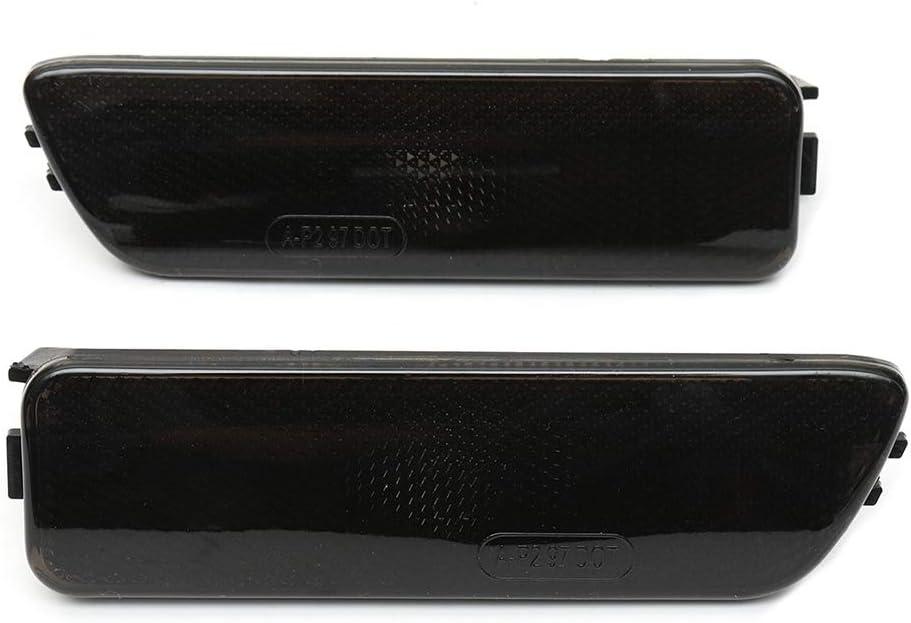 1JM945072 Fender Side Marker Lampe Feux de Position c/ôt/é Indicateur sans Remplacement de lampoule pour 1999-2005 Golf4 Blanc Couleur de la Coque Vkospy 1 Paire 1JM945071