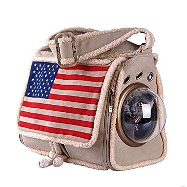 U-pet Innovative Patent Bubble Pet Carriers, Flag