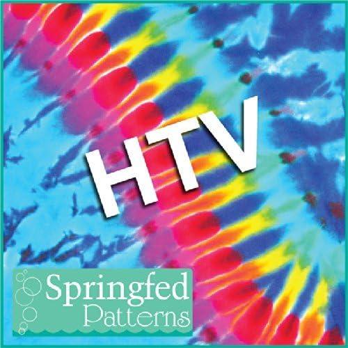Black SCRATCHBOARD PAISLEY Pattern HTV Heat Transfer Vinyl 12x18 Tie Dye Pattern for Shirts