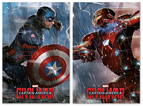 Captain America: Civil War - Movie Poster / Print Set