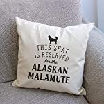 Affable Hound Reserved for The Alaskan Malamute - Cushion Cover - Dog Gift Present 7