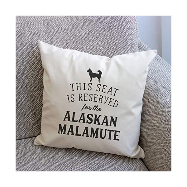 Affable Hound Reserved for The Alaskan Malamute - Cushion Cover - Dog Gift Present 3