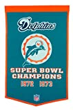 NFL Miami Dolphins Dynasty Banner