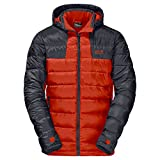Image of Jack Wolfskin Men's Greenland Jacket, Dark Satsuma, Medium