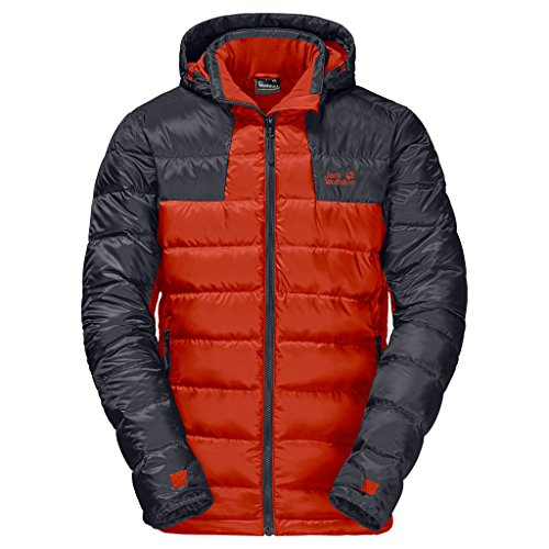 Jack Wolfskin Men's Greenland Jacket, Dark Satsuma, Large Image