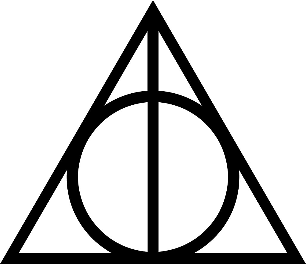 Amazon Deathly Hallows Harry Potter Sticker Decal 5 Inch