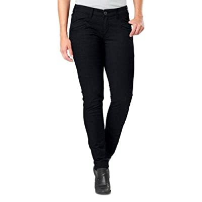 5.11 Tactical Women's Cavalry Twill Defender-Flex Slim Pants, Device Ready Pockets, Style 64415: Clothing