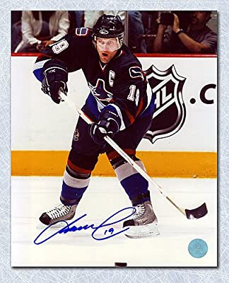 c6bd041b7df Markus Naslund Vancouver Canucks Autographed 8X10 Photo - Signed Hockey  Pictures