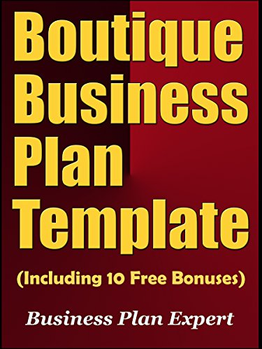 Amazon boutique business plan template including 10 free boutique business plan template including 10 free bonuses by business plan expert friedricerecipe Image collections