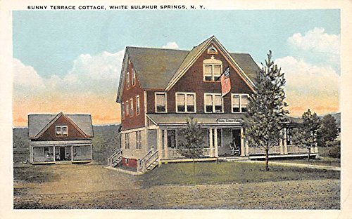 (Sunny Terrace Cottage White Sulphur Springs, New York, Postcard )