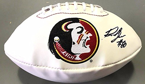 Rashad Greene Signed Florida State Seminoles Logo Football Jaguars Coa