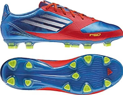 8bd37f7b392 Image Unavailable. Image not available for. Color  adidas Mens F30 TRX FG  Soccer Cleat Closeouts Blue Energy White 11 1