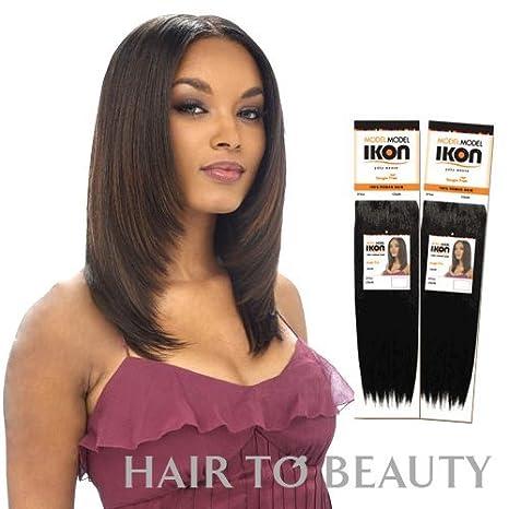 Amazon Model Model Ikon Yaky 100 Human Hair Weaving 12 2