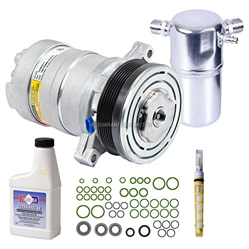 Cadillac Eldorado Compressor Ac (New Genuine OEM AC Compressor & Clutch + A/C Repair Kit For Cadillac Eldorado - BuyAutoParts 60-83089RN New)