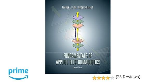 Fawwaz T. Ulaby Fundamentals Of Applied Electromagnetics Pdf