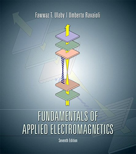 Fundamentals of Applied Electromagnetics (7th Edition)