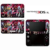 Monster High Ghoul Bloody Dolls Decorative Video Game Decal Cover Skin Protector for Nintendo 3DS XL