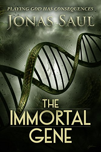 Author Jonas Saul doesn't shy away from the elements that make this a scary, violent world, and in return the reader is rewarded with an awesome sci-fi/suspense page turner: The Immortal Gene by Jonas Saul
